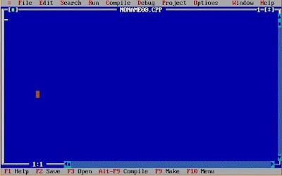 List of all useful Turbo C++ keyboard shortcuts