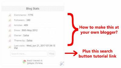 Membuat blog status, membuat status blog