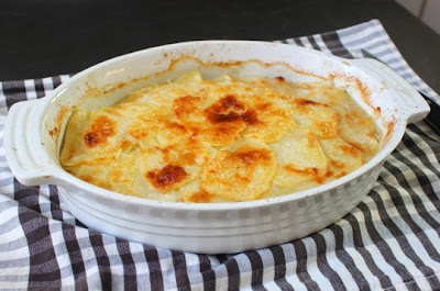 Potato & Parsnip Gratin – Less Parsnips is More Parsnips