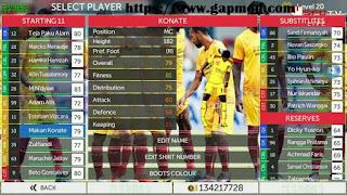 Download FTS 18 Mod Sriwijaya FC by Reksi