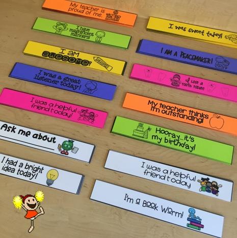 El Aula De Miss J Pulsera Motivadoras Para Preescolar