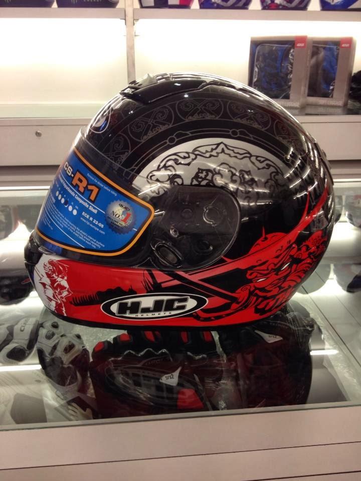 HJC CS-R1 Fullface Helmet Kini Di Malaysia Pada Harga RM399