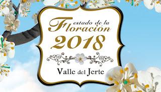Estado de la floración 2018 en el Valle del Jerte