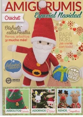 Pisca pisca de Natal feito de crochê - Receita grátis   491x347