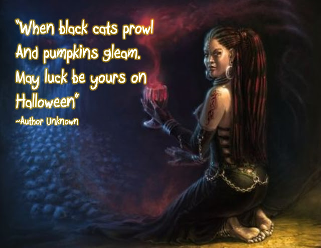 Jajackson When Black Cats Prowl And Pumpkins Gleam May Luck Be