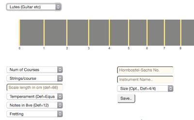 Dialog allowing user to configure any lute-like instrument from a generic base. #VisualFutureOfMusic #WorldMusicInstrumentsAndTheory