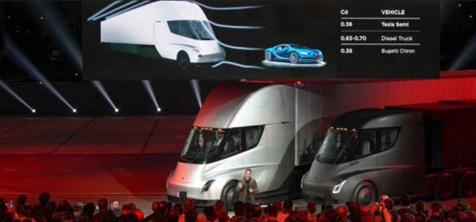 Tesla Rilis Truk Bertenaga Listrik Mampu Menempuh Jarak 804 Km