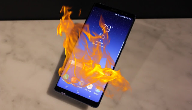 Woman sues Samsung over Galaxy Note 9 bursting into flames