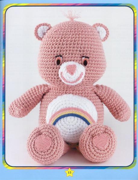 O queridinho em versão menor 30cm 🐻✈ Urso aviador #amigurumilove ... | 600x458