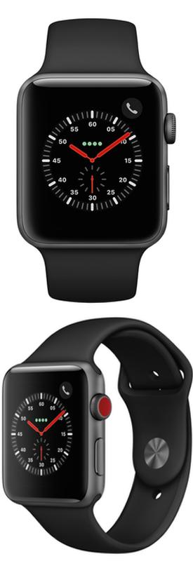 Apple Watch Series 3 42mm (GPS + Cellular) Aluminum Case