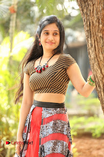 Telugu Actress Priyanka Pallavi Stills at Nenostha Release Press Meet  0037.JPG