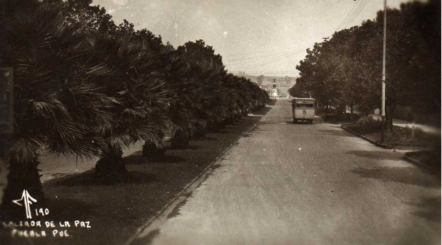 Puebla Heroica E Historica: Av. De La Paz O Del Vencedor