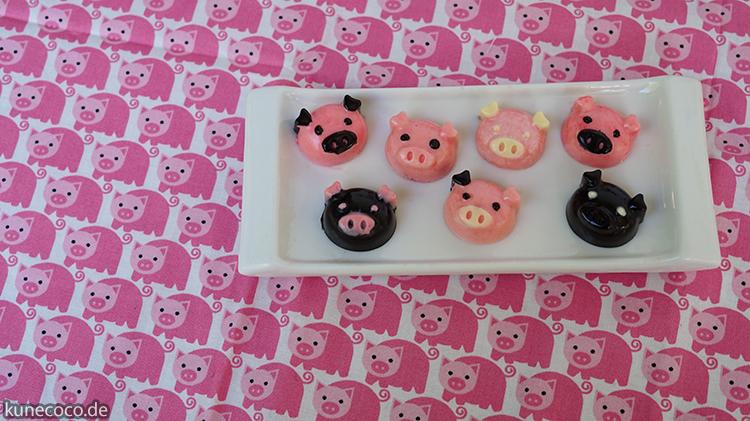 KuneCoco: Schokoladige Pralinen mit Schweinegesicht