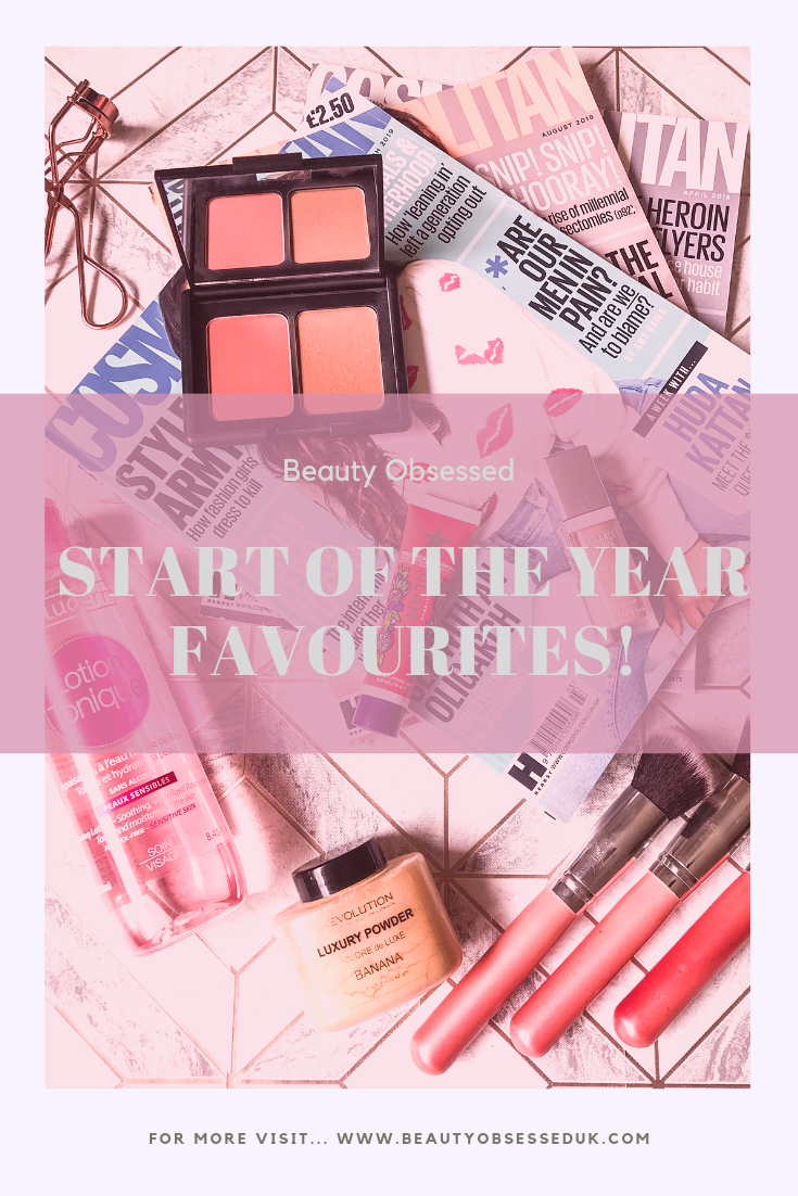 start of the year favourites pinterest graphics