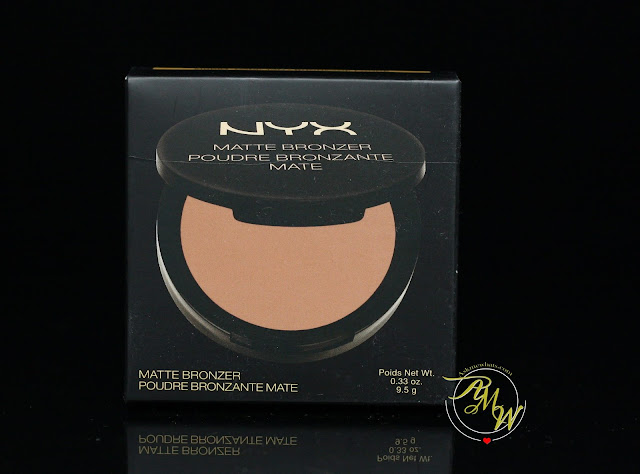 A photo of NYX Matte Bronzer Dark Tan