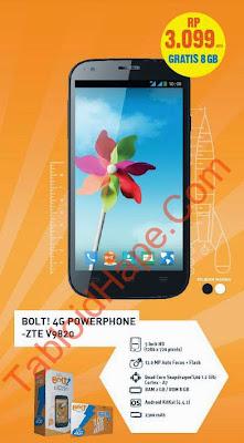 Harga Bolt 4G Powerphone ZTE V9820 Terbaru