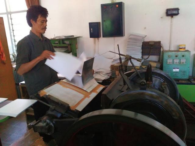 "Mesin Cetak Alquran ""untuk Tunanetra"" Satu-Satunya di Dunia Ada di Indonesia"
