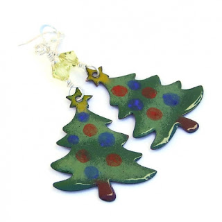 christmas tree jewelry for women
