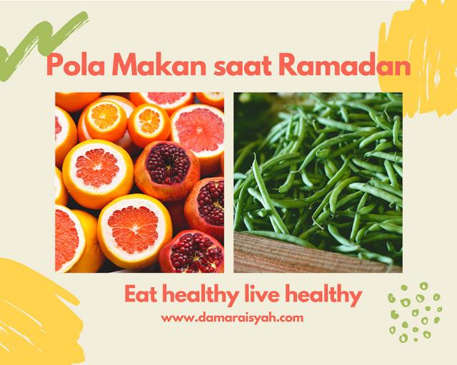Pola makan sehat saat Ramadan