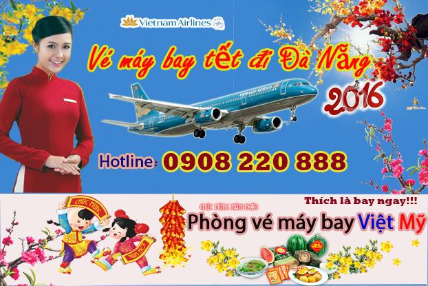 Vé máy bay tết đi Đà Nẵng hãng Vietnam Airline