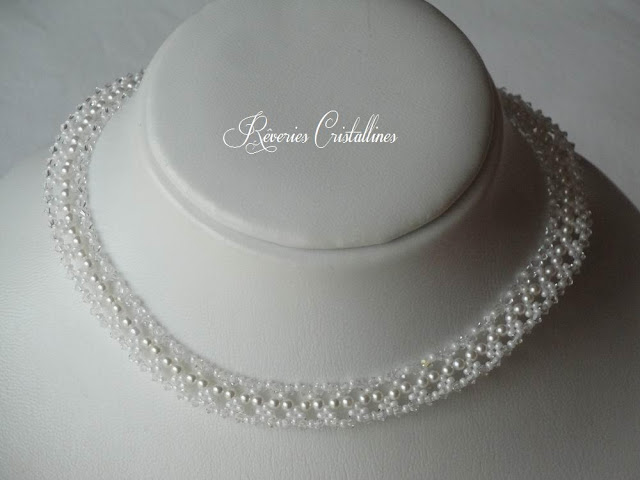 bijou précieux mariée en cristal