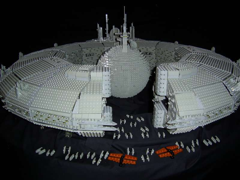 Huge Gallery Of Fan Made Lego STAR WARS Ships And More