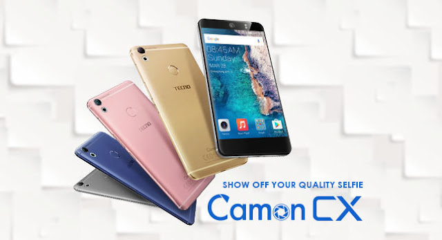 Tecno Camon CX Specs & Price in Ghana