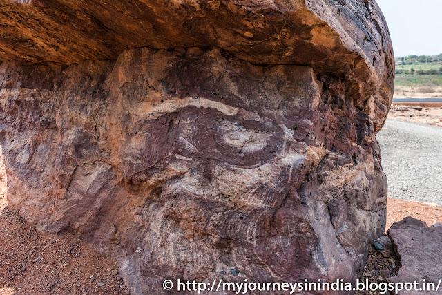Aihole Red Sandstone Rock