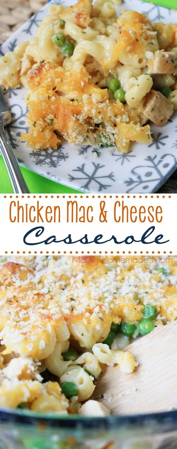 COOL CHICKEN MAC & CHEESE CASSEROLE