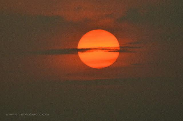 sunset sun