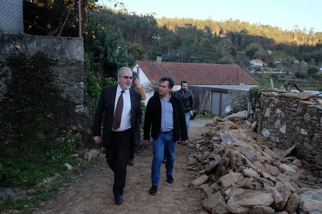 Fotografia Executivo da Câmara Municipal visitou a freguesia de Amonde