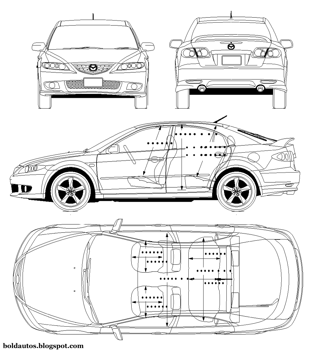 Bold Autos: Mazda Atenza