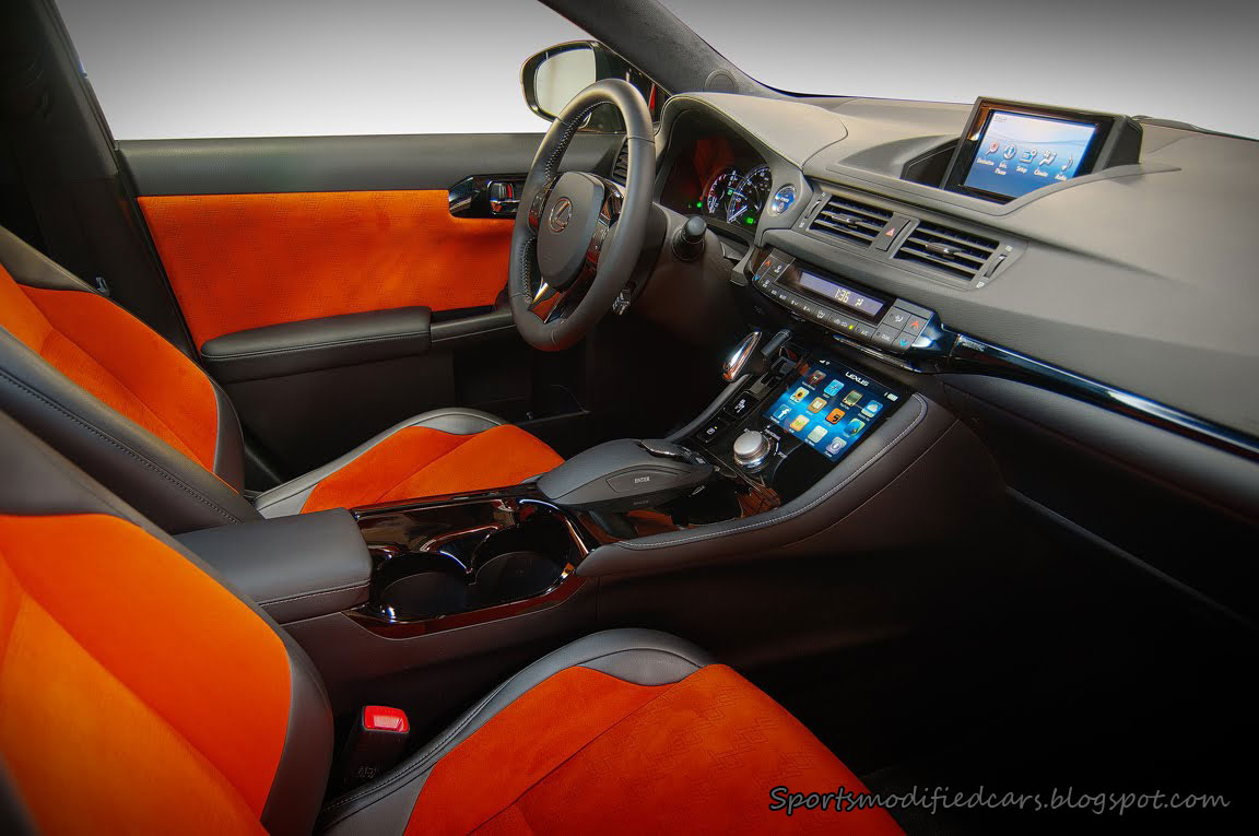 Five Axis Lexus Ct 200h First Images Interior Details Jpg