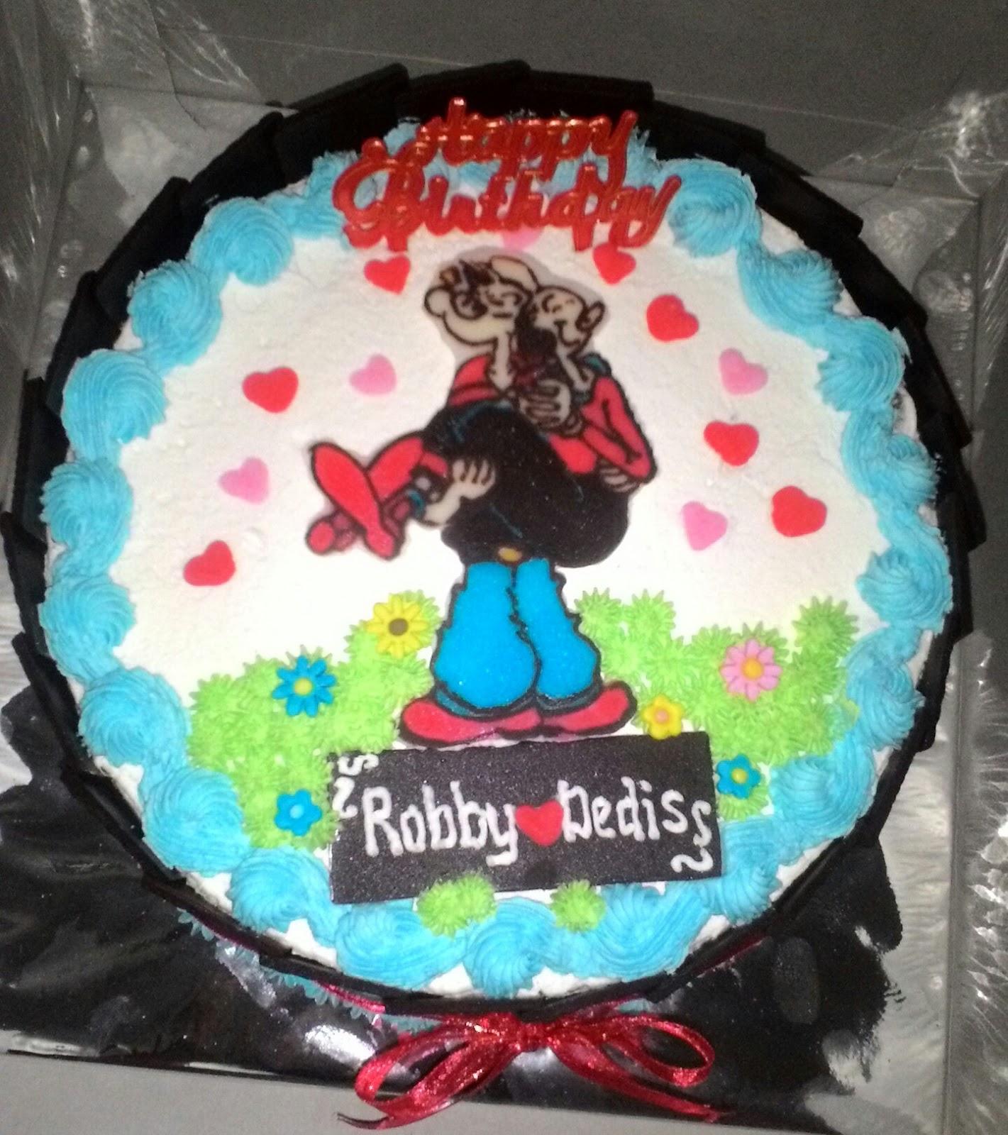 Cake Ulang Tahun Gambar Kartun Dan Karakter