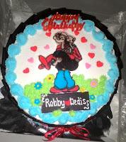 cake gambar popeye