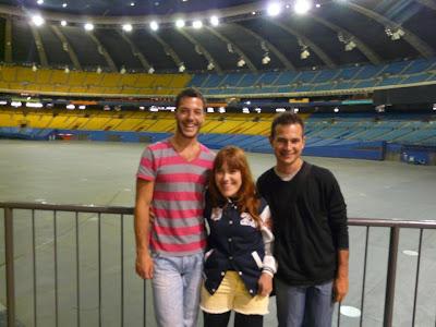 visite du parc olympique de Montréal