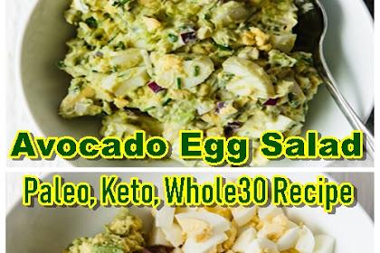 Avocado Egg Salad - Paleo, Keto, Whole30 Recipe