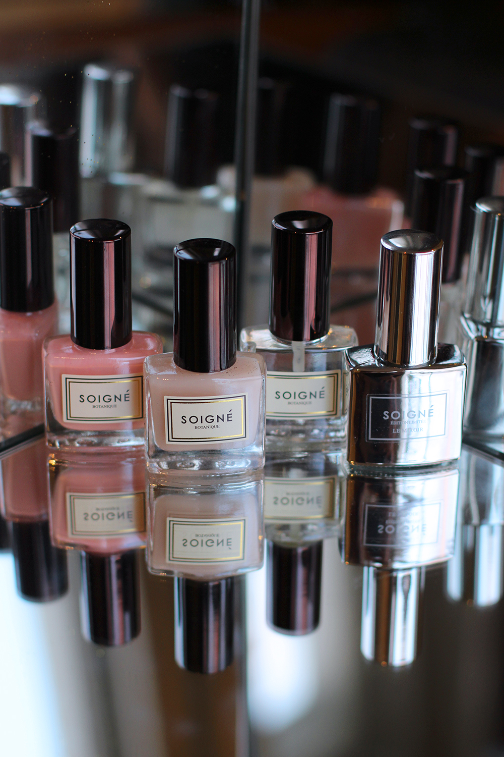 Luxury French nail polishes from Soigne Nails - UK beauty blog