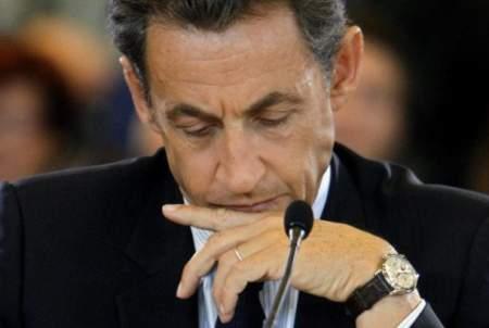 Arloji mantan Presiden Prancis Nicolas Sarkozy