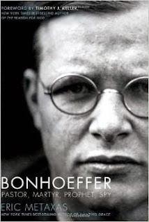 http://www.amazon.com/Bonhoeffer-Pastor-Martyr-Prophet-Spy/dp/1595552464/ref=sr_1_3?s=books&ie=UTF8&qid=1433306091&sr=1-3&keywords=bonhoeffer