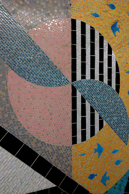 Mosaic at Southampton station