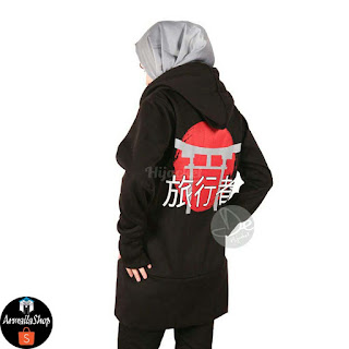 Hijacket Japan Street Black HJ-JS4