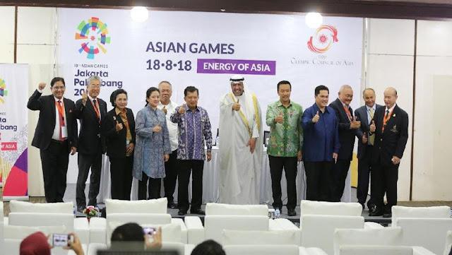 'Jurnalis, Ofisial, dan Atlet Asing Wajib Pakai Visa ke Asian Games 2018'