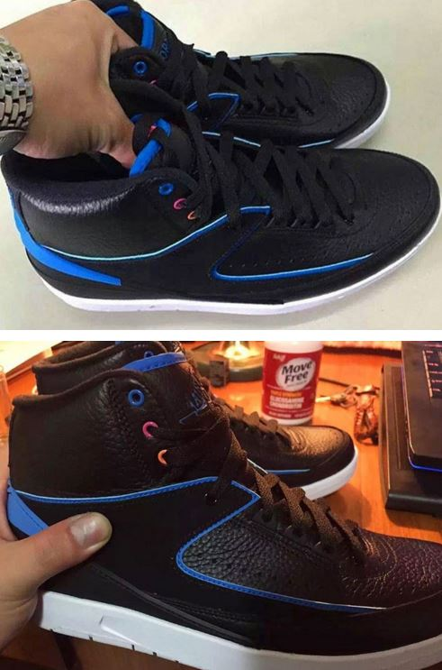 744fd10fb87c33 Here is a first look via ajsole com at the 2016 Air Jordan 2  Radio Raheem  80 s  Sneakers hitting retailers in the Spring