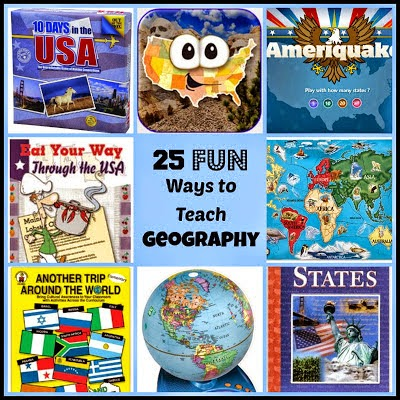 3104e5f9c HERE are plenty of fun ways to teach geography to your child. I feel this  subject area needs to be taught first, so kids can relate to where the  events in ...