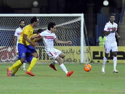 الزمالك يحقق خمسة نجاحات بالفوز علي النصر