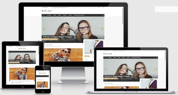 Blogari Responsive Blogger Template Download Free