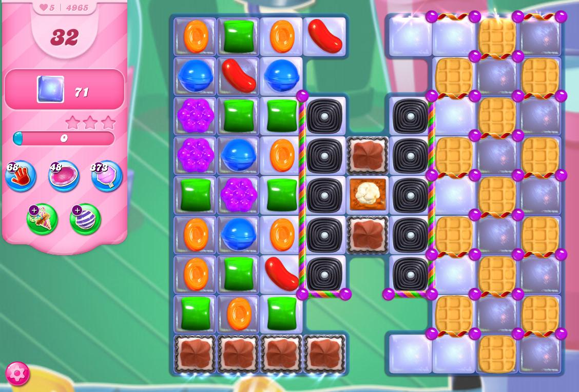 Candy Crush Saga level 4965