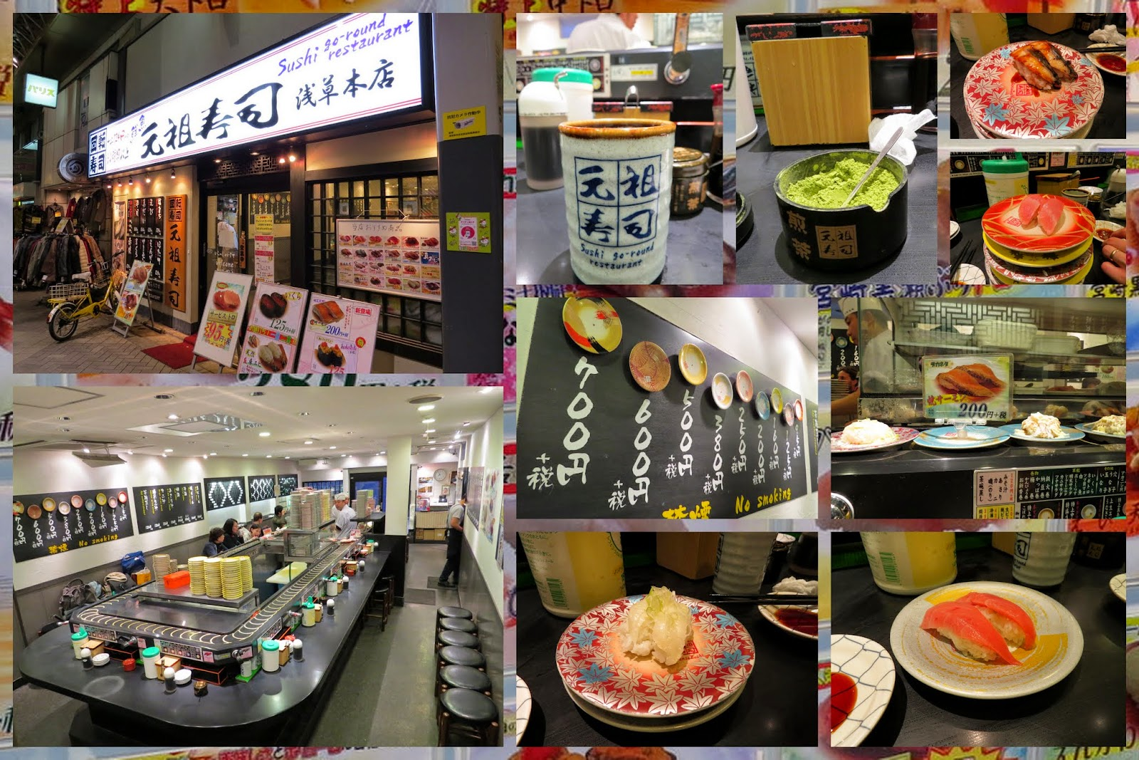 Where to eat in Japan: Sushi Go-Round Restaurant