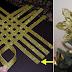 Aprende a hacer una hermosa y sencilla estrella de Navidad para adornar tu árbolito, centro de mesa o puerta.